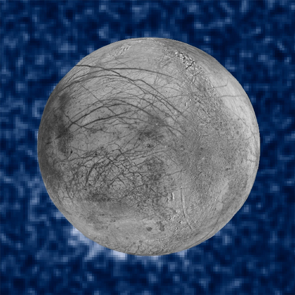 Hubble Finds New Evidence Of Water Plumes On Europa