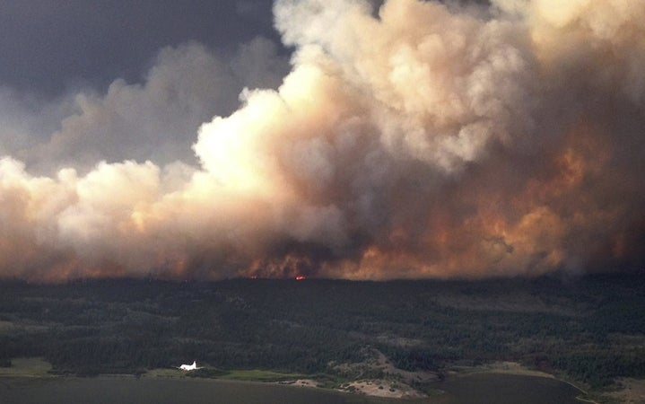 Wildfires Are Raging Across Northern North America
