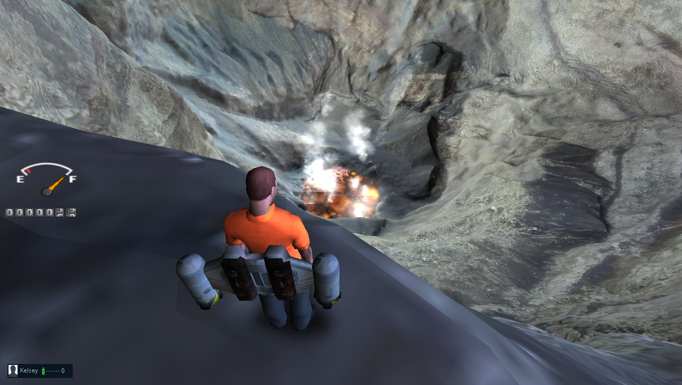 How I Explored A Real Volcano With A Jetpack Made Of Pixels