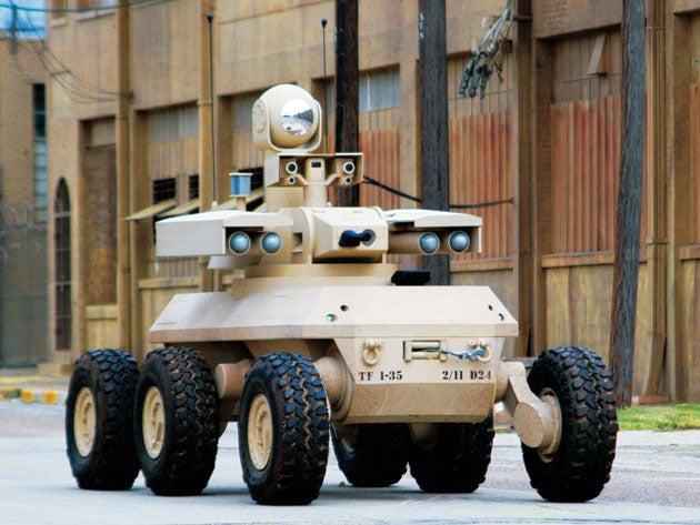 U.S. Military Terminates Several Robotic Warriors