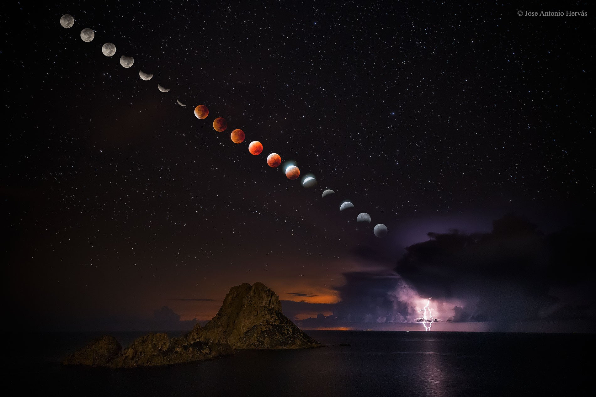 Super Blood Moon, A Glowing Turtle, And Other Amazing Images Of The Week