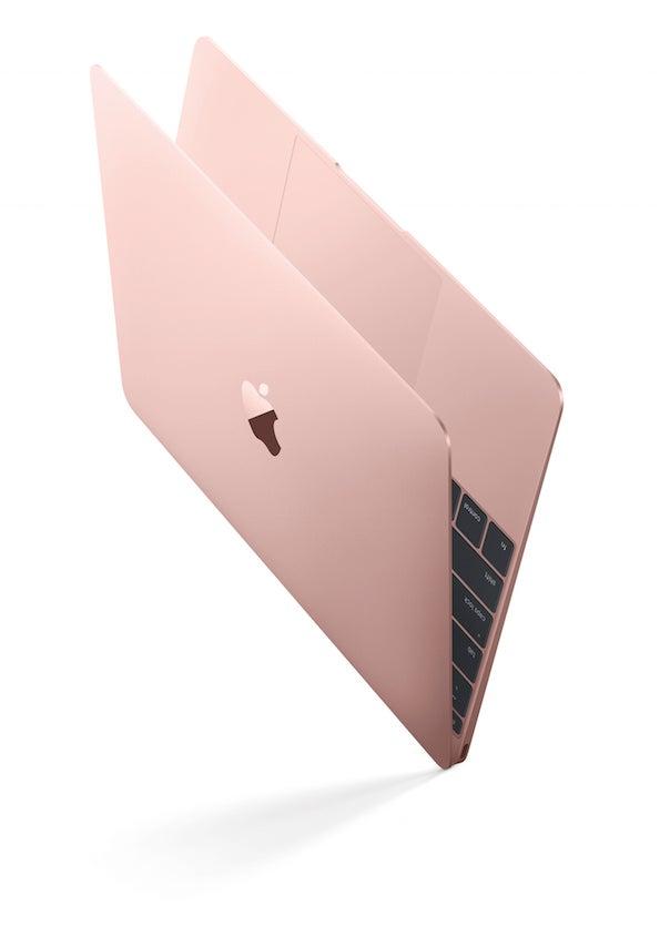 Apple Macbook in Rose Gold aka 'Pinkbook'