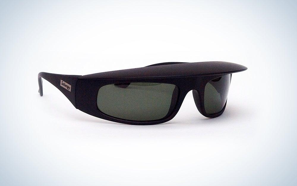 Solergy Visor Glare Blocking Wrap Around Polarized Sunglasses