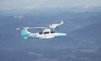 Legendary Plane Designer Burt Rutan Tests Weird Seaplane