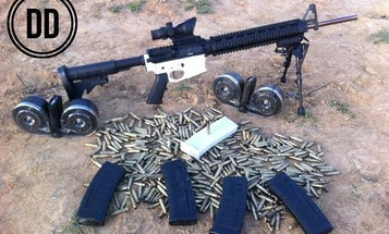 Watch This Guy Fire 600 Rounds With A Partially 3-D Printed Gun