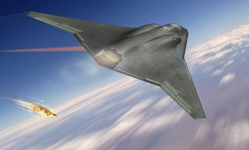 Are These Laser-Firing Jets The Next Generation Of Fighters?