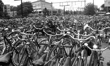 Bikers in Europe Get Some TLC