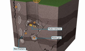 Underground Radon Detectors Could Forecast Earthquakes Days Before They Happen