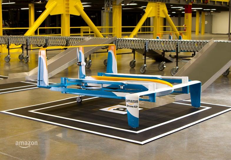 Amazon's New Hybrid Drone