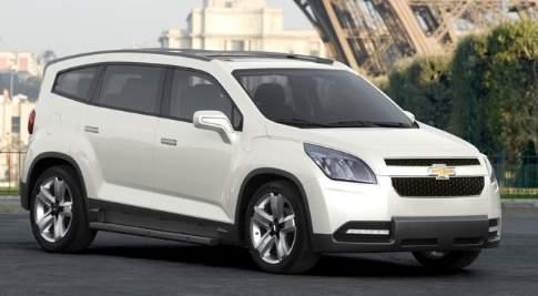 New Chevrolet Minivan Could Borrow Volt Powertrain