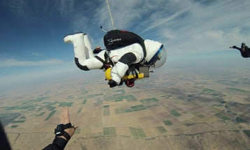 Falling Up: Why Former Googler Alan Eustace Broke the World Free-Fall Record