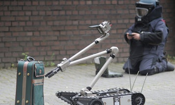 German Researchers Are Developing A Bomb Squad Robot That Sees Inside Suitcases