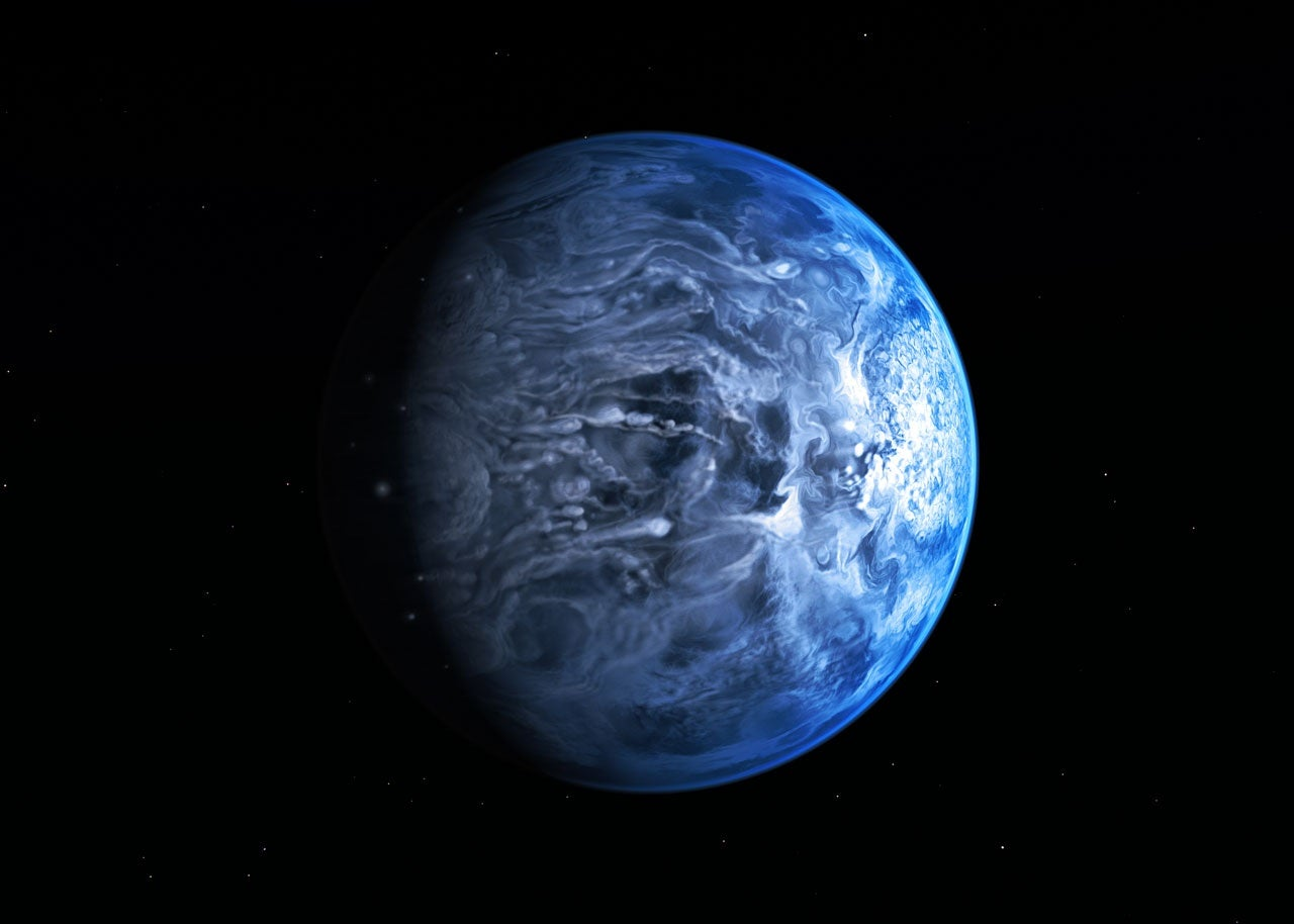 True Color Of An Exoplanet Discovered For The First Time