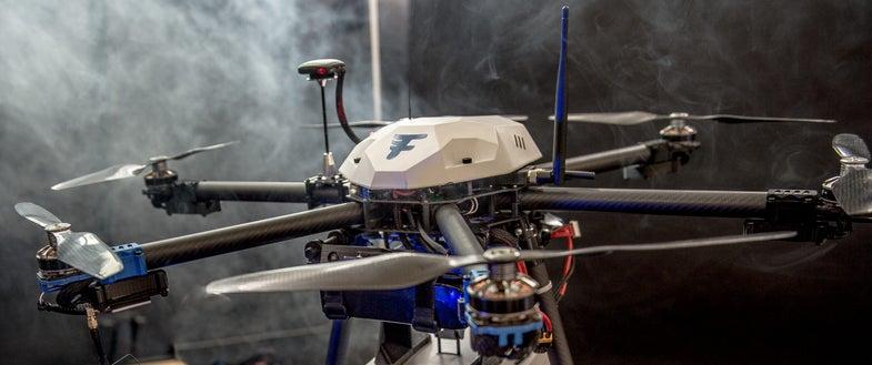 Flirtey's Drone