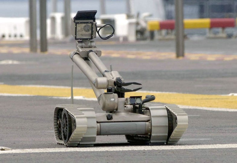 Brazilian Government Invests In Robocops To Prep For World Cup, Olympics