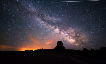 This year's Lyrid meteor shower coincides with Earth Day, but light pollution is ruining the show