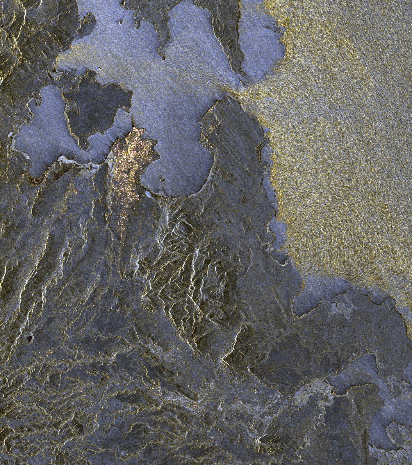 3-D Map-Making TanDEM-X Satellite Returns First Images, Showing Fine Detail of Earth's Surface