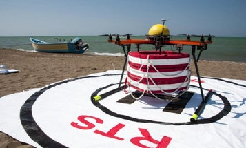 Lifeguard Drone Ready For Mass Production [Video]