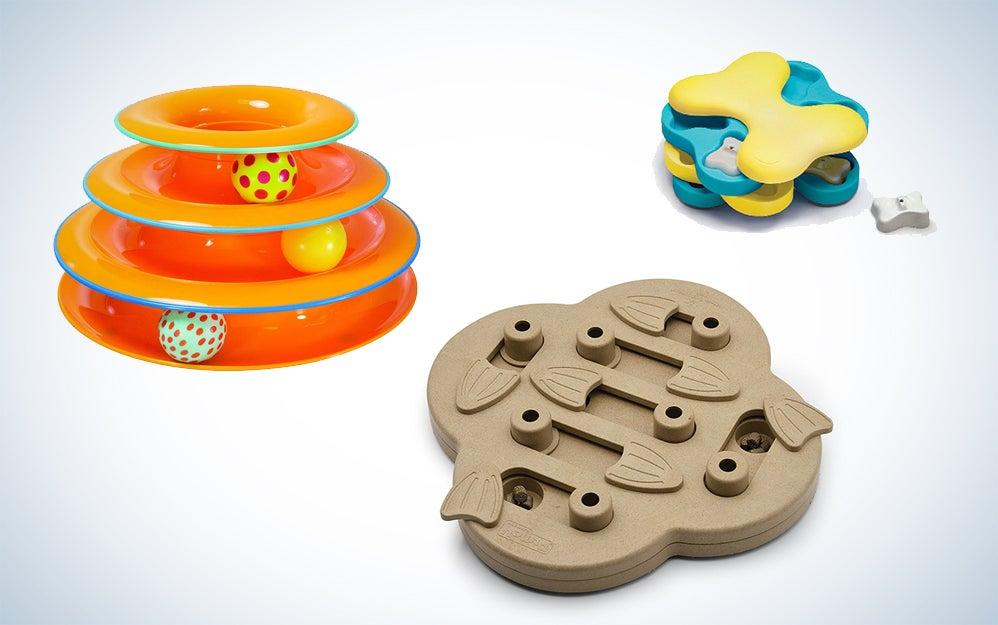 Interactive pet toys