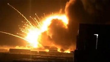 Ammunition Explosion Iraq