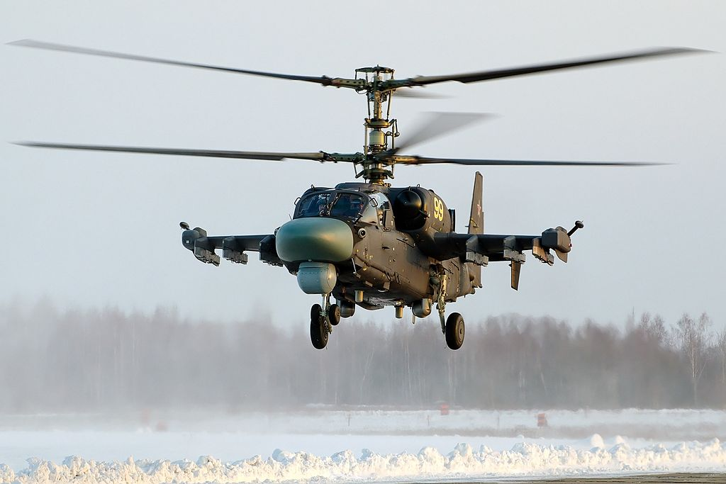 Russia Orders Helicopters For Its New Amphibious Assault Ships