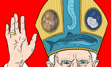 This Week In The Future: The Pope's Robot Tentacle Saves Whale Sharks