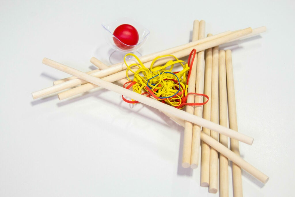 tabletop catapult - supplies