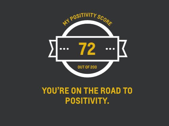 Facebook Positivity Results