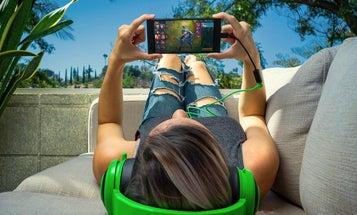 Razer designed its first smartphone to make holding it sideways suck less