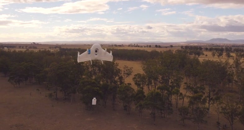 Google Is Testing Drones Under NASA's Supervision