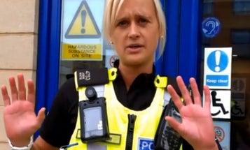 British Police Department Adopts Night Vision Body Cameras