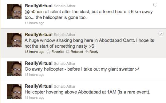 Pakistani Twitter User Inadvertently Live-Tweets Bin Laden Assassination
