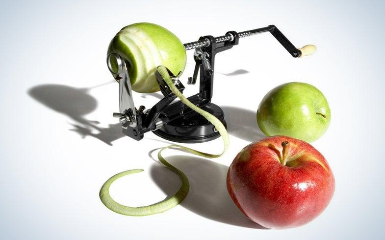 UtenLid Apple and Potato Peeler, Corer, and Slicer