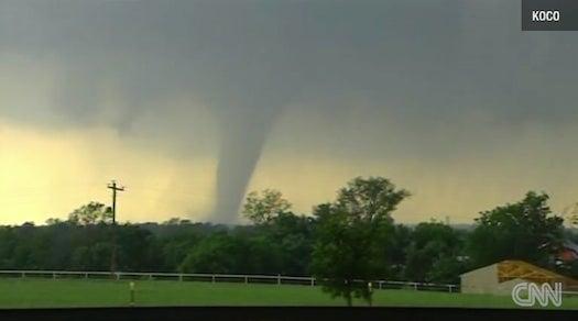 Huge Tornado Flattens Towns Near Oklahoma City [Updated]