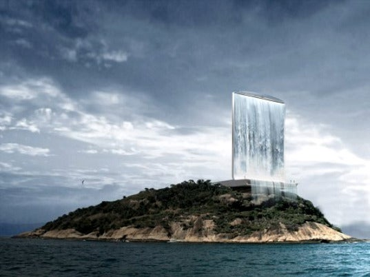Giant Solar-Powered Artificial Waterfall Could Power Rio's Olympic Village