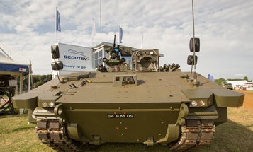 The Future Of British Warfare Is This Modest Tanklet