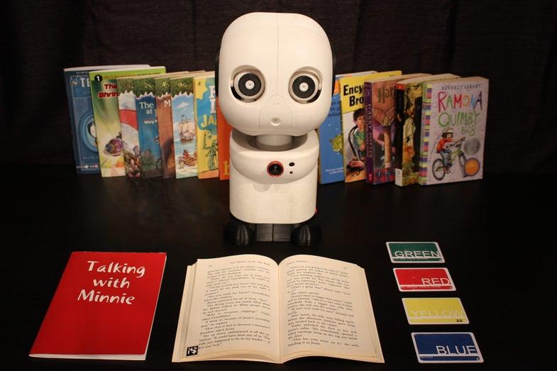 Kids aren't reading enough. One solution? Robots.