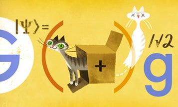 Google Doodle Honors Physicist Erwin Schrödinger And His Quantum Cat