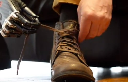Watch This Unbelievable Robot Hand Tie A Shoe