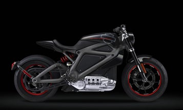 Meet Harley Davidson's First Electric Motorcycle