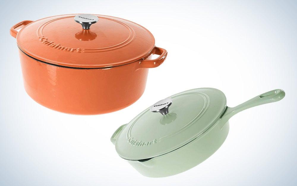 Cuisinart cast-iron cookware