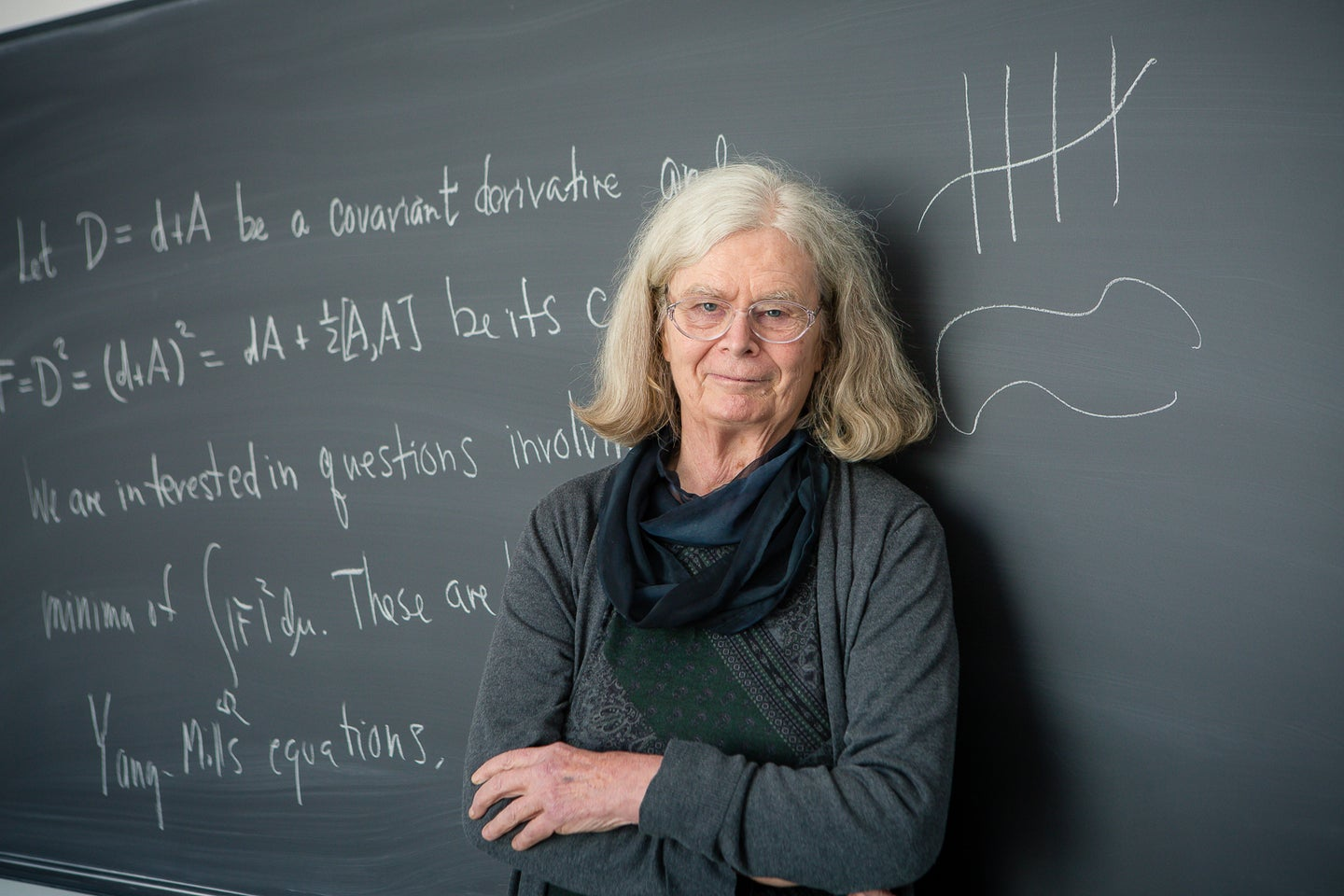 Karen Uhlenbeck won the 'Nobel of math'—but women are still under-represented in the field