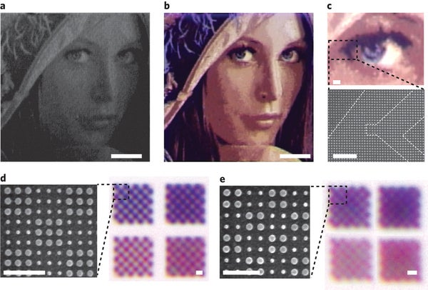 Researchers Reach the 'Highest Possible' Resolution for Color Laser Printing at 100,000 dpi