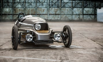 Morgan EV3 Brings Retro Cool To Electric Cars