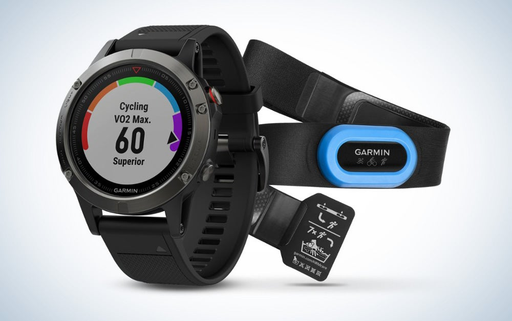 GarminFenix 5 Performer fitness tracker bundle