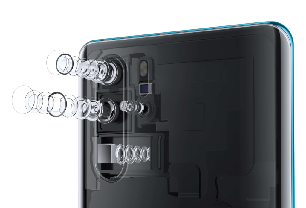 Huawei P30 cameras