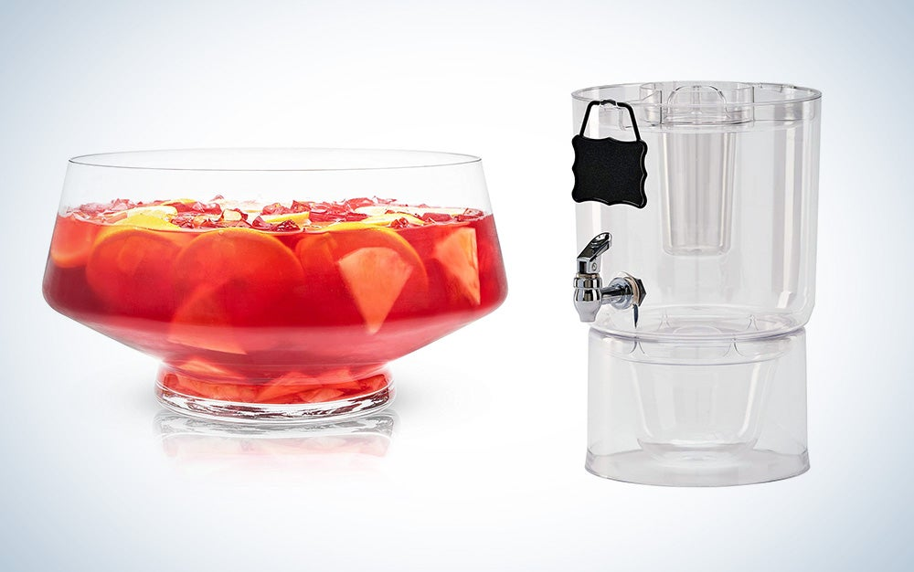A large beverage container for parties