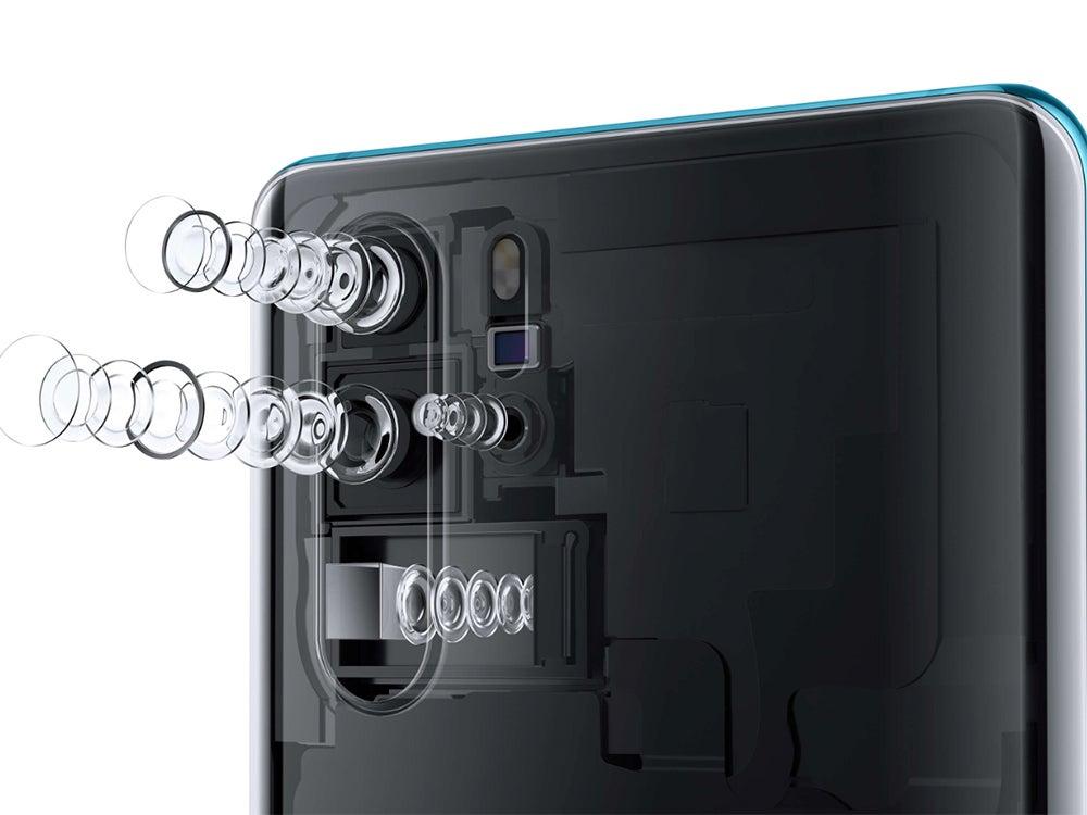Huawei P30 zoom lens
