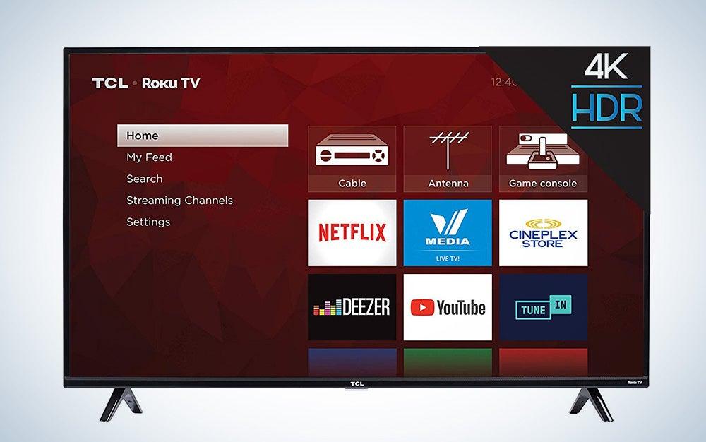 50-inch TLC 4K Roku TV