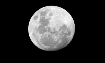 The moon is quaking (and shrinking like a raisin)